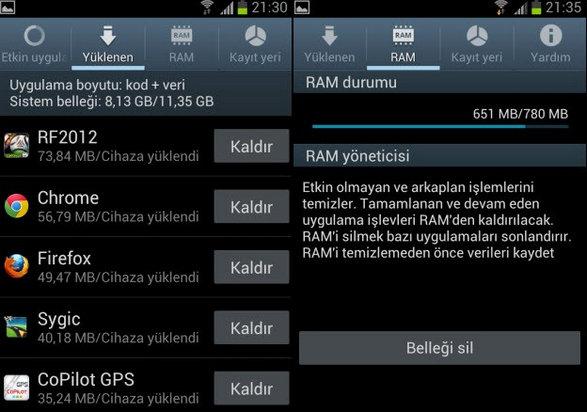 Galaxy S3 Mesaj Gönderme Sorunu - Hatası