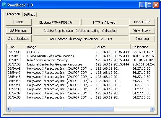 20. PeerBlock - 35 açık kaynak kodlu yazılım! (16 ...