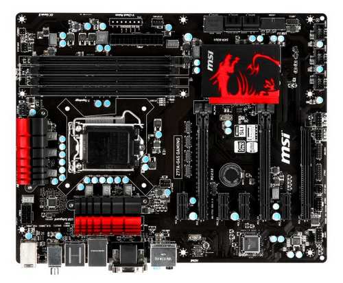 MSI Z77A-G45 Gaming