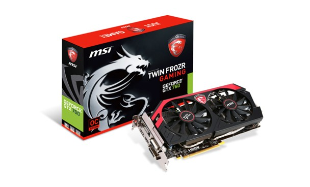 MSI N760 Twin Frozr