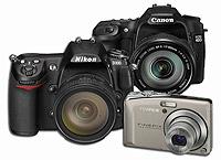 2007'de en çok beğenilen fotoğraf makineleri