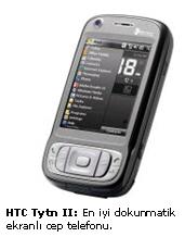 Dokunmatik telefonlar...