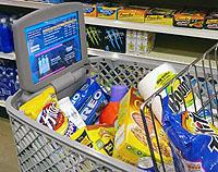 Bilgisayarlı alışveriş sepeti
