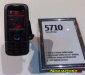 Nokia 5710 Xpress Music tanıtıldı