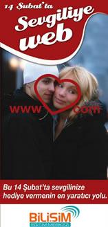 Sevgiliye Özel Hediye Web Sayfası eğitimleri