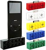 iPod için lego şeklinde hoparlörler