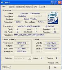 CPU-Z v1.44.1 çıktı!