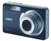 Sanyo E10: 10 Mega pikselli şık mini-kamera