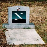 Netscape kaderine terkedildi