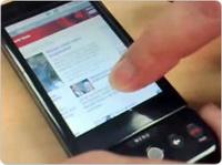Android touch phone prototipi karşınızda