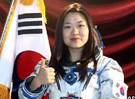 Güney Kore'nin ilk kadın astranotu!