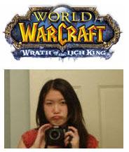 En iyi World of Warcraft oyuncusu bir kız