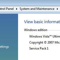 Vista SP1 ile birlikte değişecek özellikler