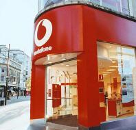 Madonna önce Vodafone'da