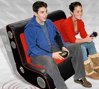 Sallan dur: Çift kişilik oyuncu koltuğu