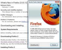 Firefox 2.0.0.13: Kritik hatalar düzeltildi