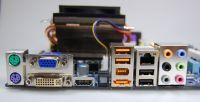 Mükemmel donanım: HDMI, ESATA ve 12 USB 2.0-portu