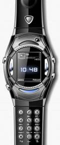 Saat şeklinde cep telefonu
