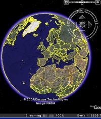 Google Earth 4.3 yayında