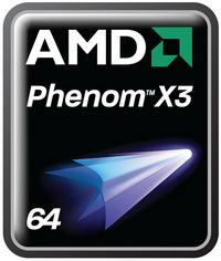 AMD: Üç çekirdekli Phenom'lar geldi