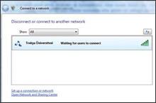Tercih edilen kablosuz ağ bağlantısını seçmek