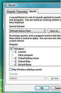 Vista için iki yeni ses teması yayımlandı