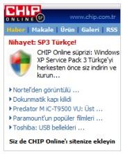 Siteniz CHIP Online içeriğiyle zenginleşsin
