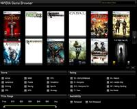 Nvidia'dan oyun tarayıcısı