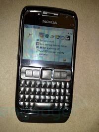 Nokia E71 ve E76: Yeni resimler ve dedikodular