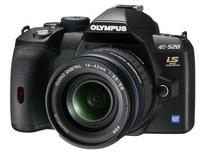Entegre görüntü sabitleyici: Olympus E-520