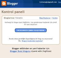 Kendi blog'unuzu oluşturun