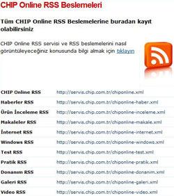 Gelelim RSS'e…