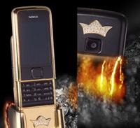 Nokia 8800 Arte: Altınlı ve pırlantalı