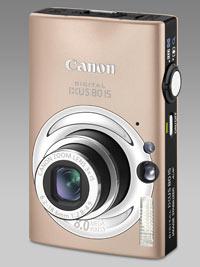 Canon'dan hareket algılama özellikli IXUS