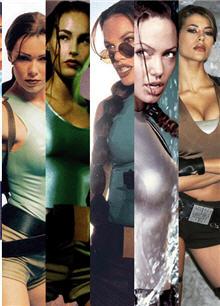 Lara Croft zaman tünelinde...