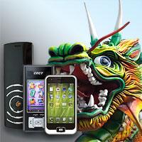 iPhone klonları ve diğer popüler cihazlar