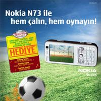 Nokia N73 ile hem çalın, hem oynayın
