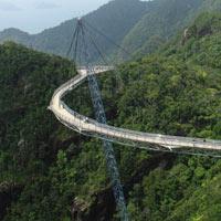 Teknoloji her yerde: Tek ayaklı köprü
