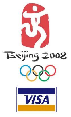 Visa Pekin 2008 olimpiyatlarına gönderiyor…