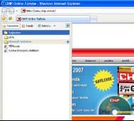 Chip online öncelikle internet explorer ı başlatın daha sonra