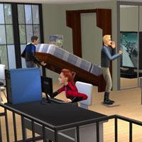 Sim'ler apartman hayatına alışıyor