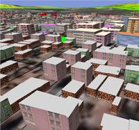 Türkiye'nin ilk 3 boyutlu kent bilgi sistemi
