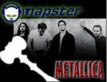 Metallica Internet kullanıcıları ile kavgalı
