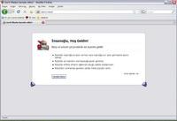 Firefox 3'te gizli olan karşılama mesajı