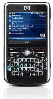 HP iPAQ 914c: Windows 6.1'li iş-telefonu