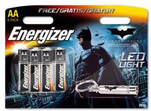 Energizer'dan Batman filmi temalı ürünler