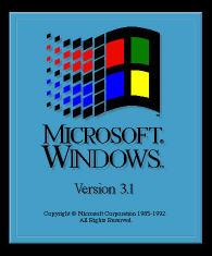 Windows 3.1'den çok özel kareler