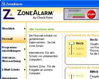 Firewall-update: ZoneAlarm tekrar çalışıyor
