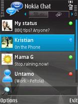 Nokia Chat: Cepler için soysal ağ platformu