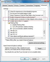 DEP ve Domain-Highlighting